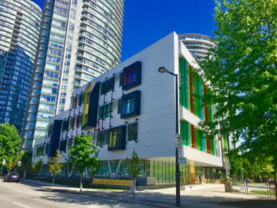 Crosstown, a vertical elementary school in downtown Vancouver.