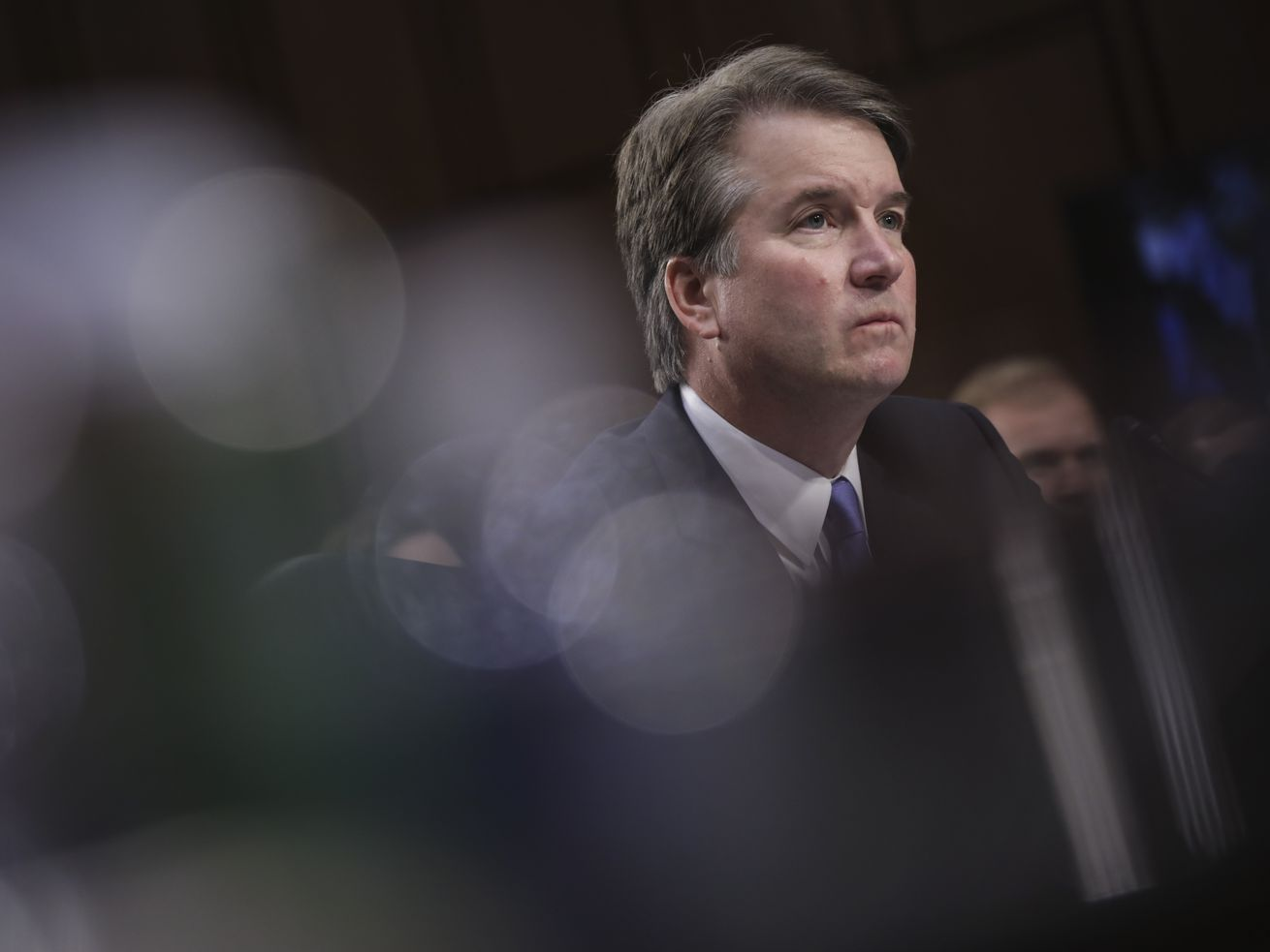 Supreme Court nominee Judge Brett Kavanaugh, who has been accused of sexual misconduct by Christine Blasey Ford and Deborah Ramirez.
