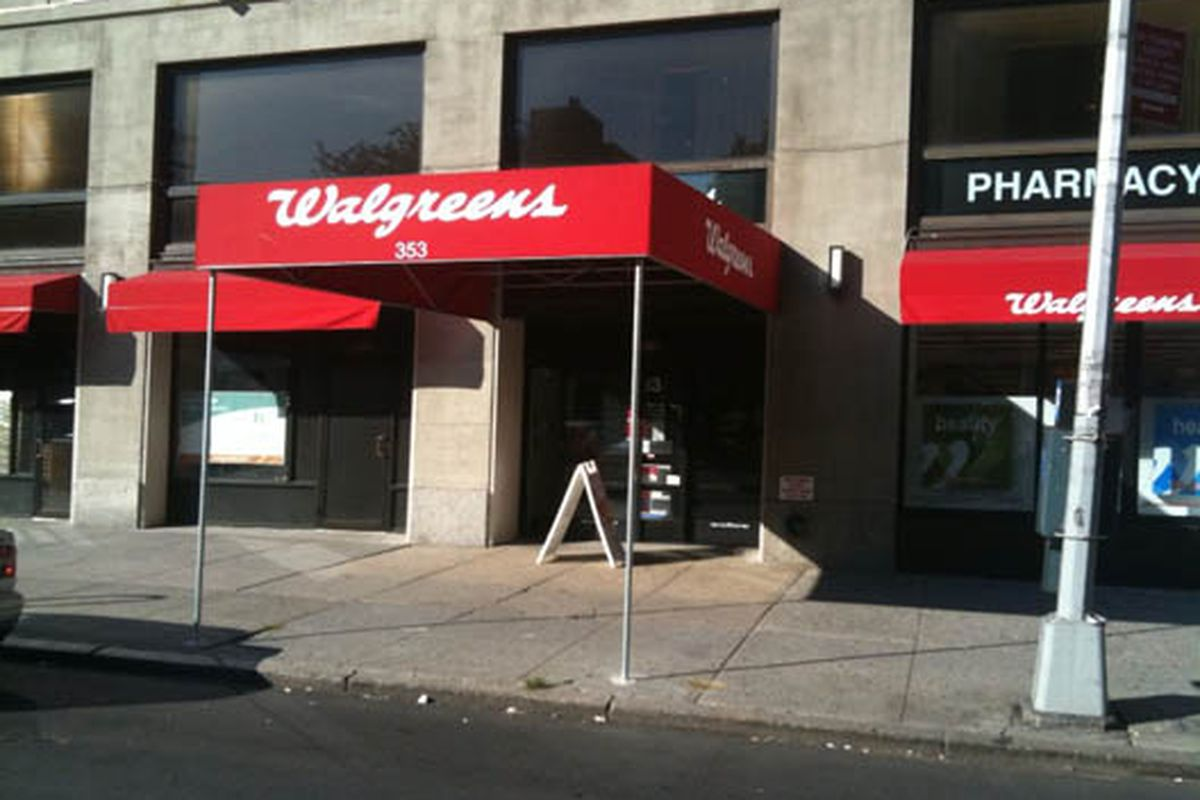 The D'Agostino's at 353 57th Street has turned into a Walgreens