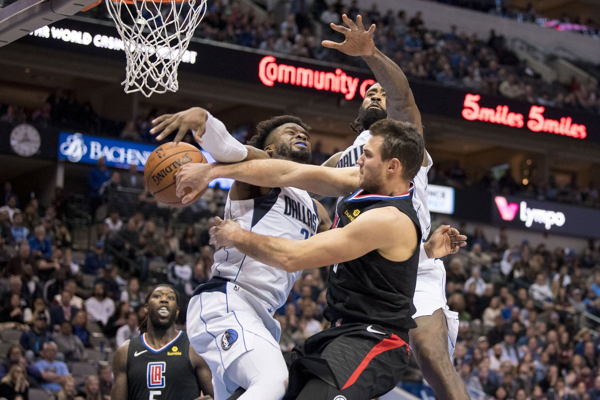 Clippers Get Dominated On The Glass Fall To Mavs 114 110