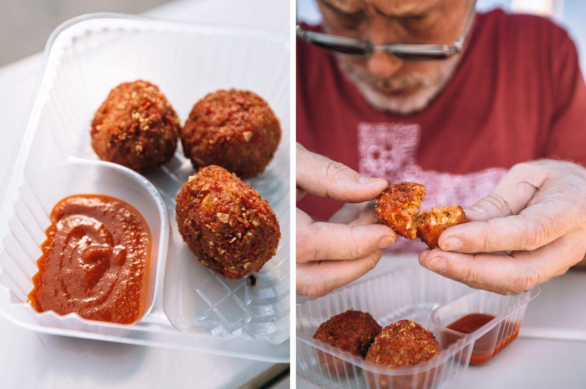 Fried Sriracha Balls