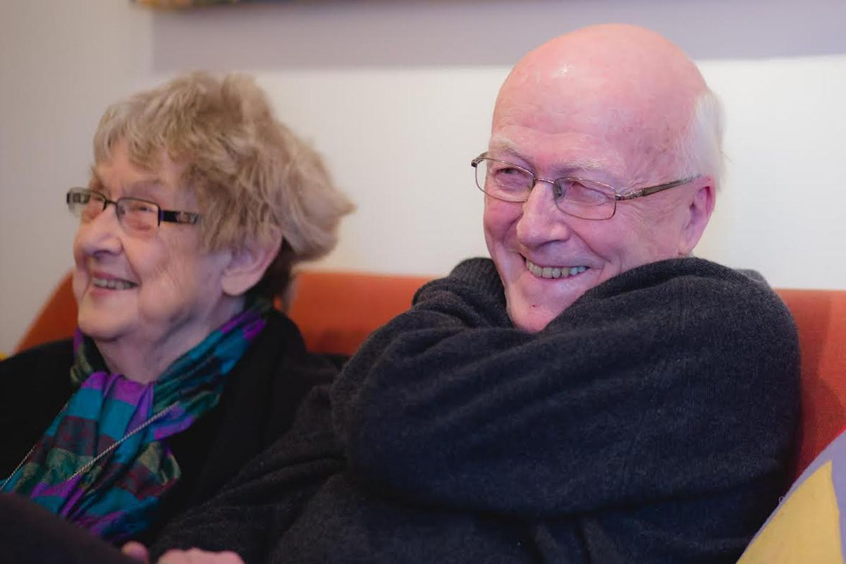 Roy and Dorothy Larson were married for nearly 70 years.