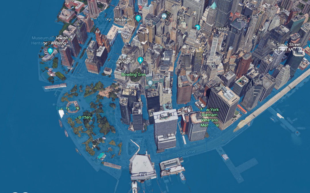New York Subway Map 2100.Here S What Nyc Would Look Like If Sea Levels Rise By 8 Feet Curbed Ny