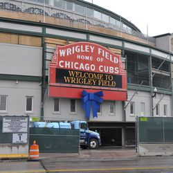 """Clark and Addison. """"Welcome To Wrigley Field"""""""