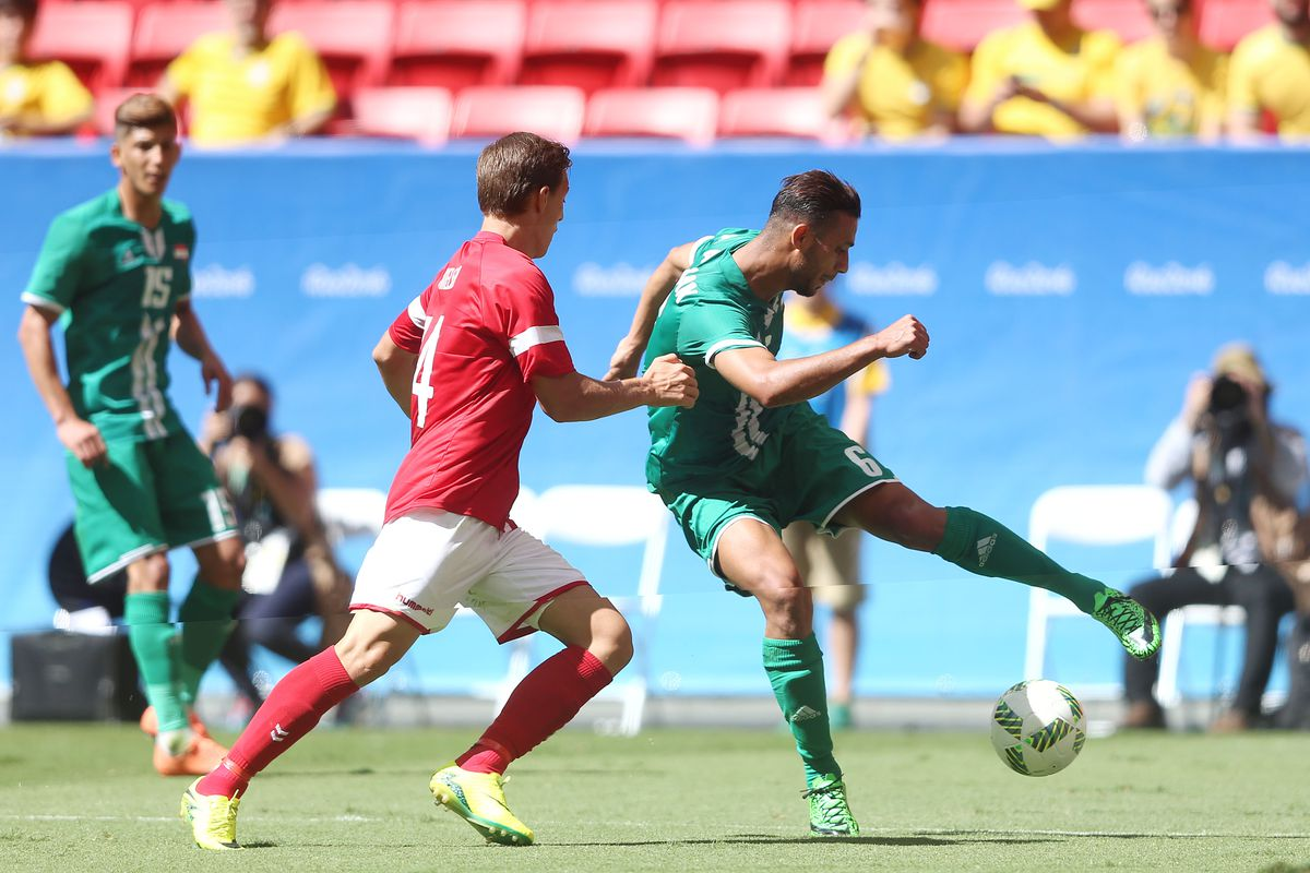 Iraq through and Brazil out? It could happen today.