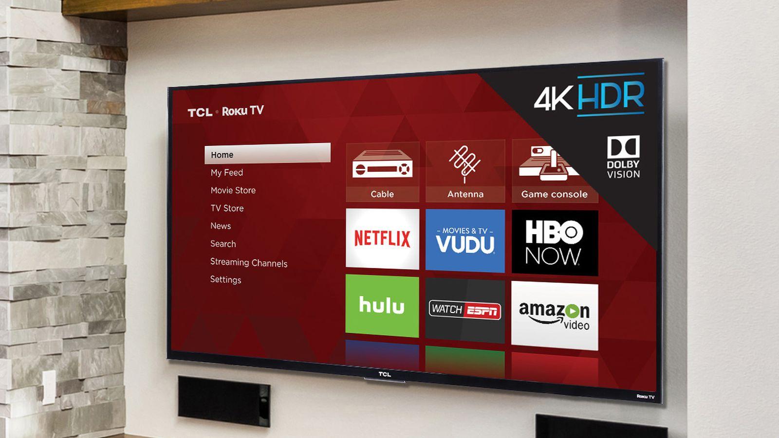 tcl s latest roku tvs make 4k and dolby vision hdr super. Black Bedroom Furniture Sets. Home Design Ideas