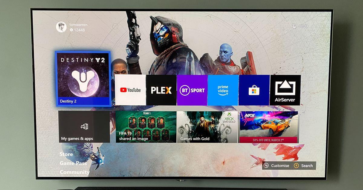 La dashboard Xbox, una cronologia visiva thumbnail