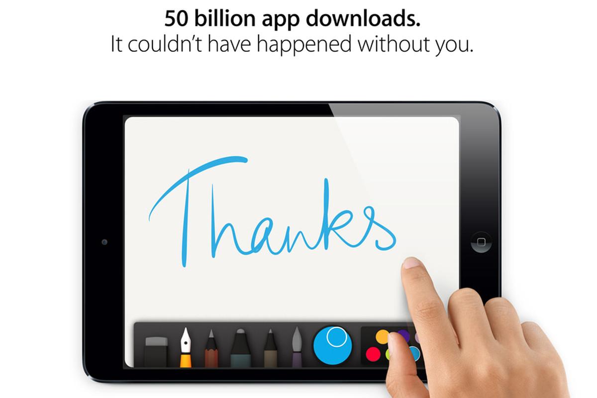 Apple 50 Billion Apps