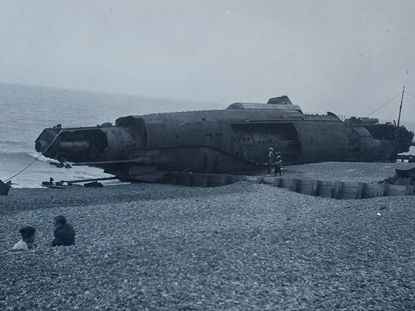 WWI submarine graveyard discovered by underwater archaeologists