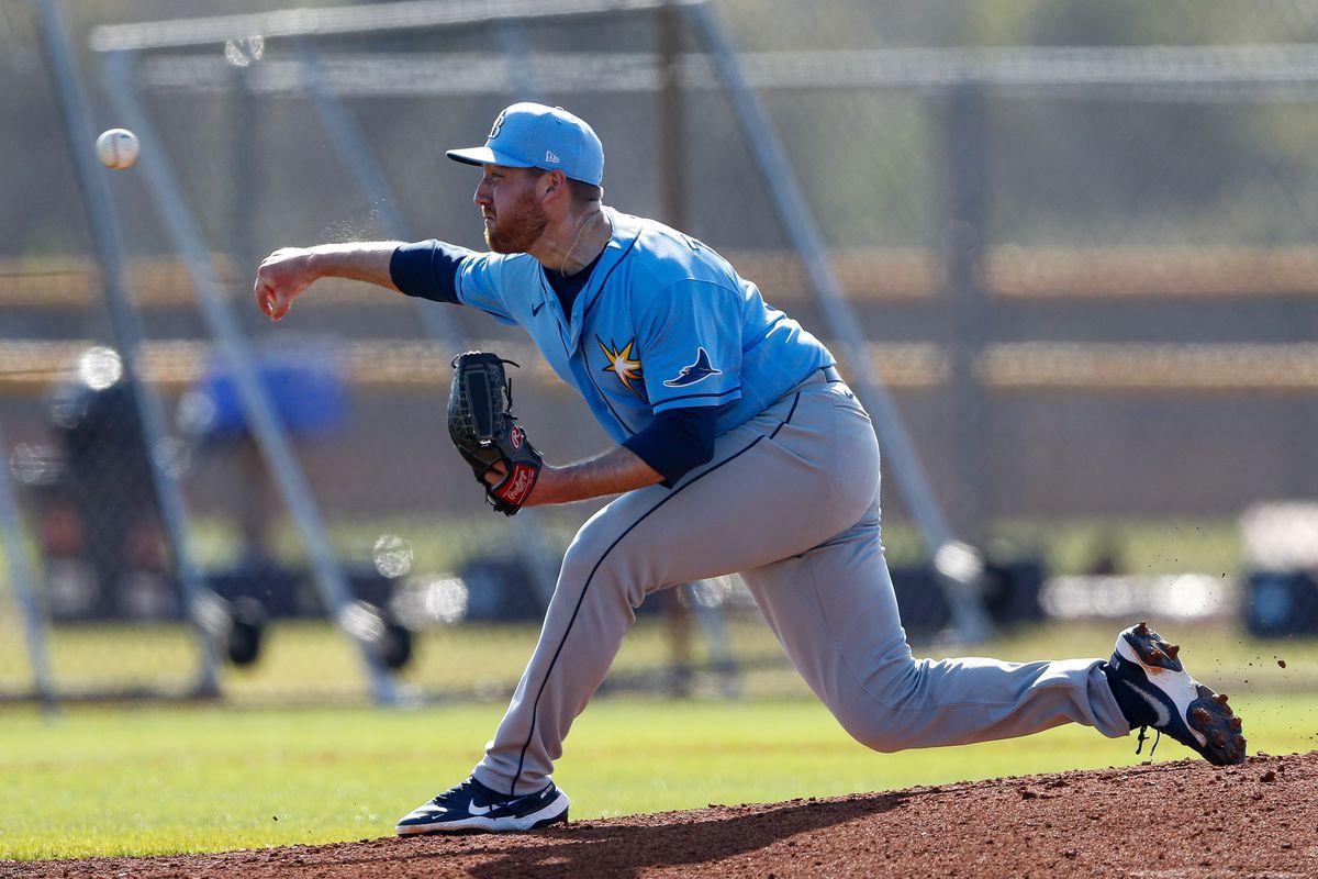MLB: Tampa Bay Rays-Workouts