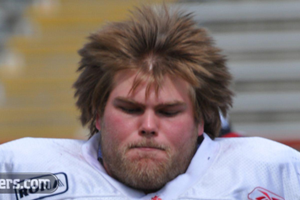 "The Canadian humidity has done wonders for Jon Gott's hair. (via <a href=""http://www.stampeders.com/common/uploads/player_images/biop-JonGott.jpg"">www.stampeders.com</a>)"