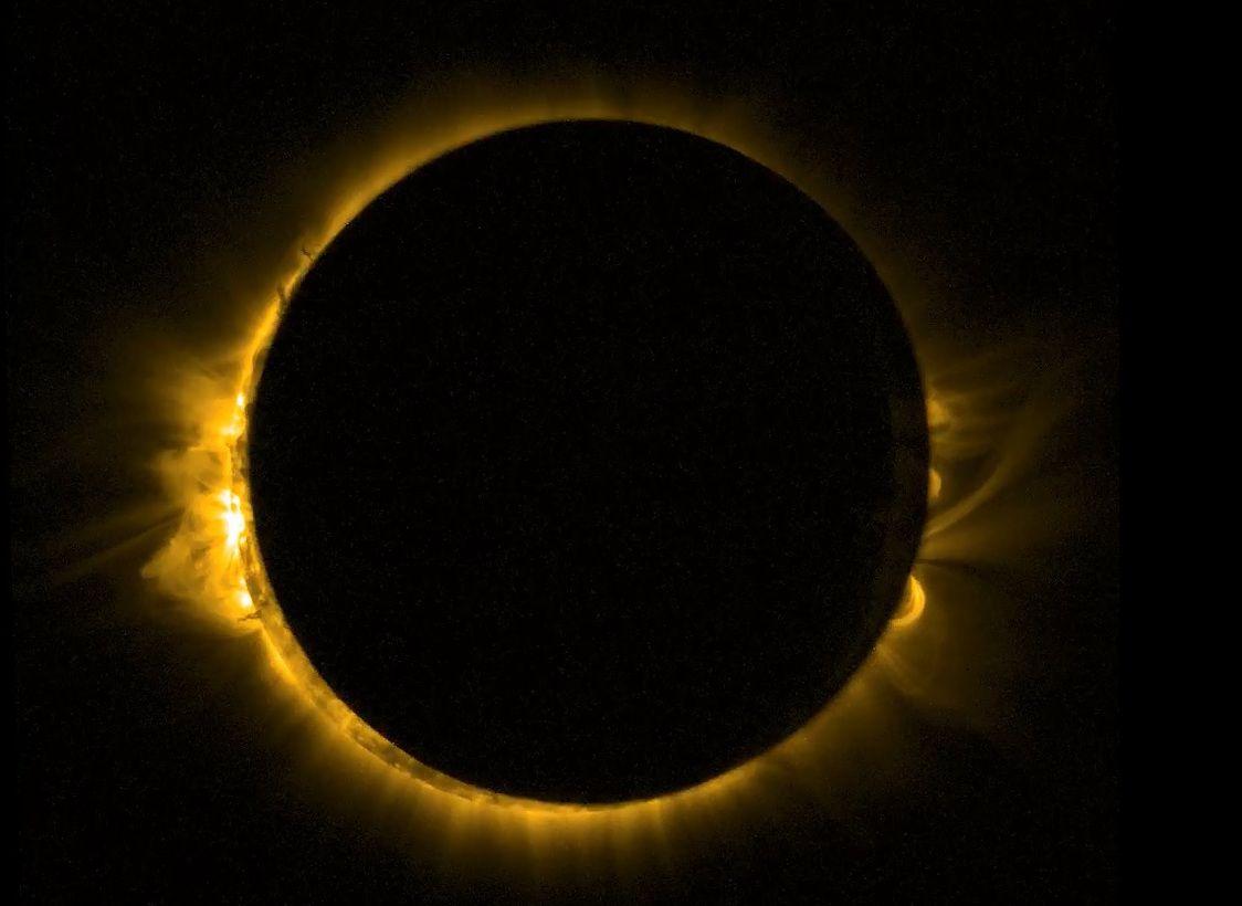 solar eclipse photo 1