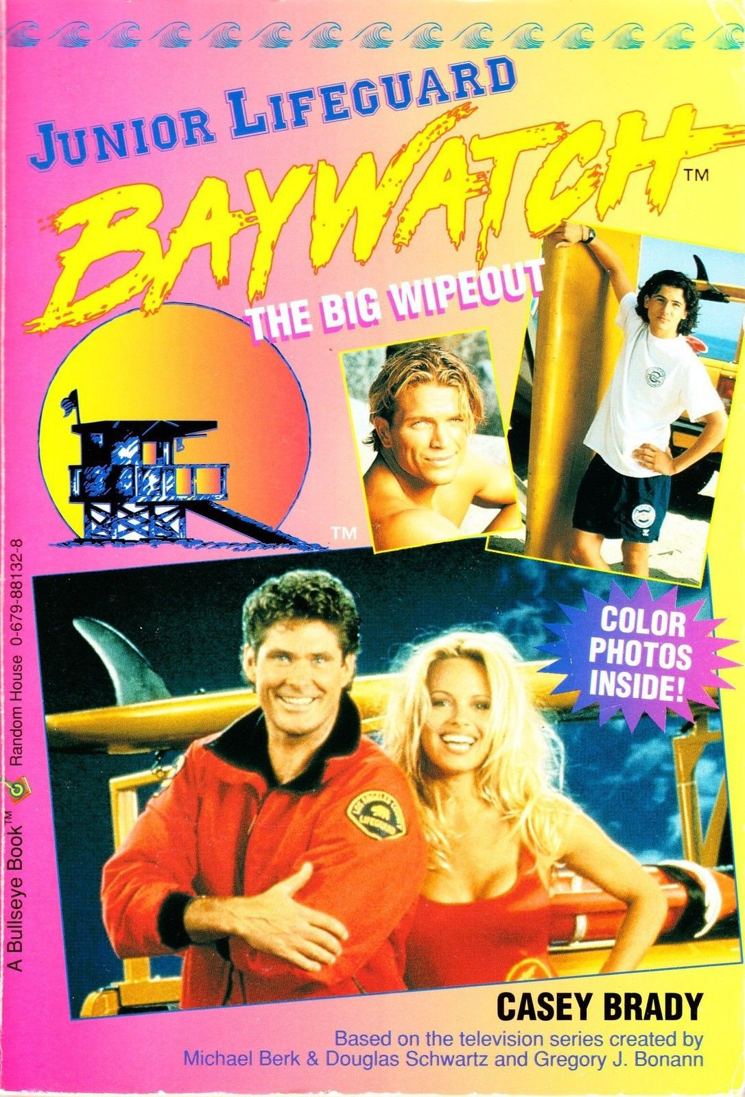 Cover of Baywatch Junior Lifeguard book 4