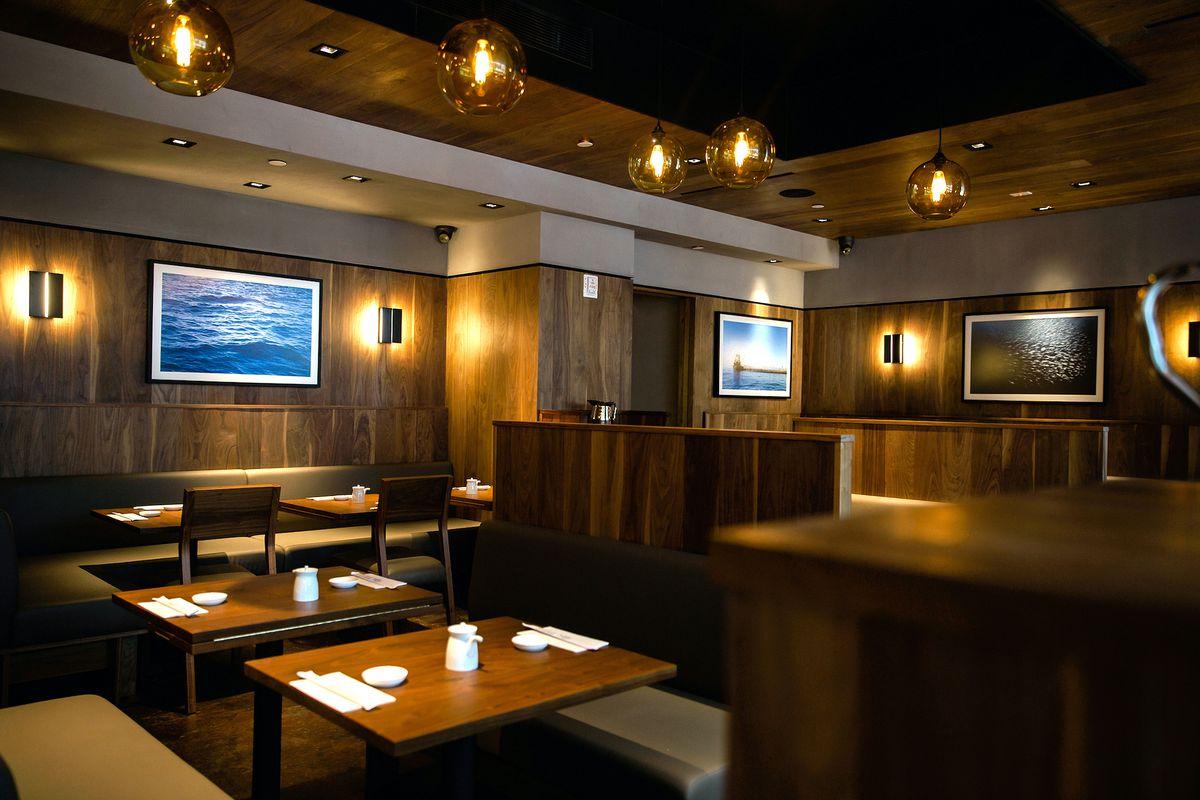 sugarfish dining room