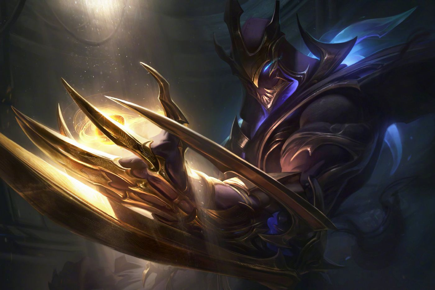 Galaxy Slayer Zed reveals the champion's face - The Rift Herald