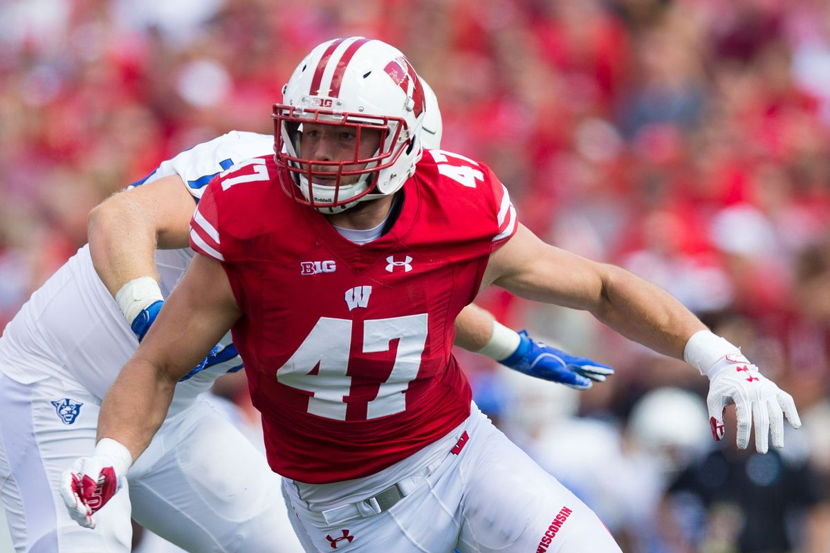 331513f4e NFL Draft 2017  Wisconsin OLB Vince Biegel selected by Green Bay Packers at  No. 108