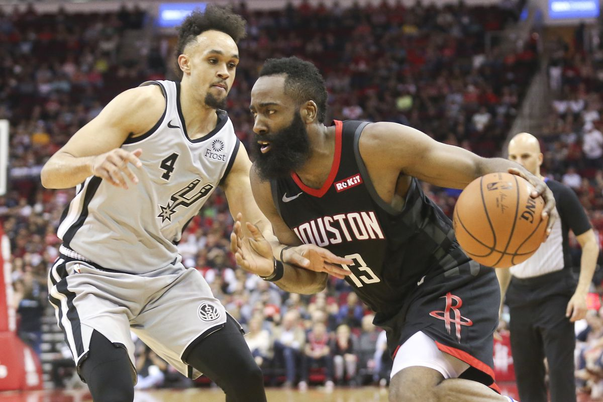 b60df507b91d James Harden s 61 points carry Rockets to 111-105 win over streaking Spurs.  New