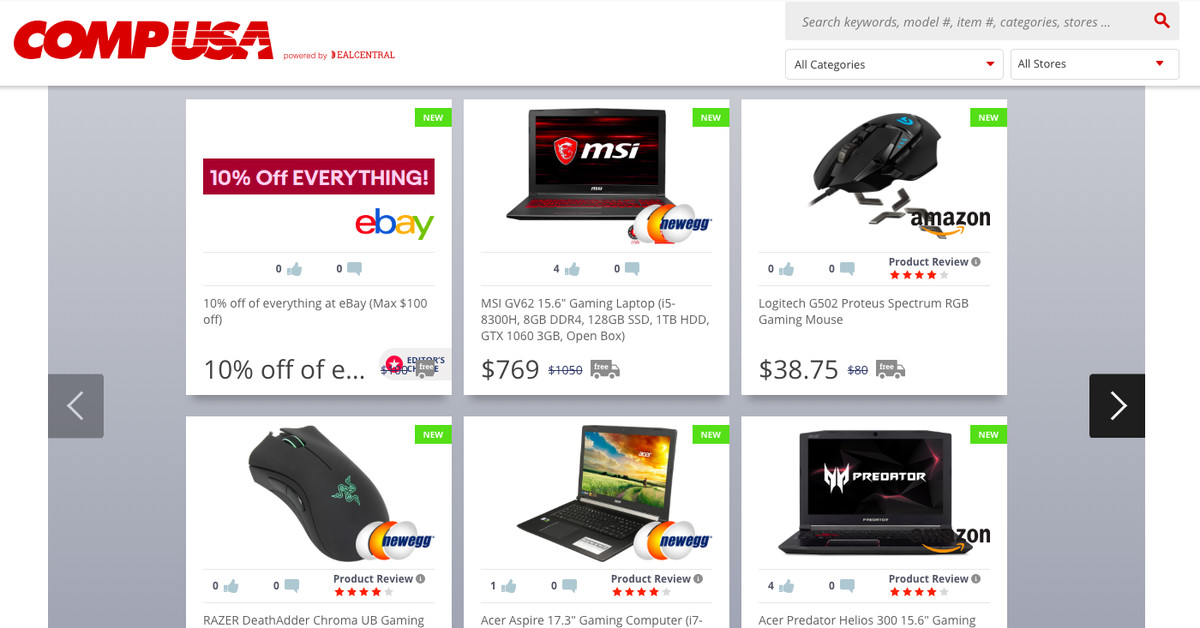 QnA VBage CompUSA resurrected as a sad affiliate deals site