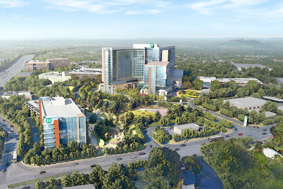 $1 3B Brookhaven CHOA hospital slated to break ground next