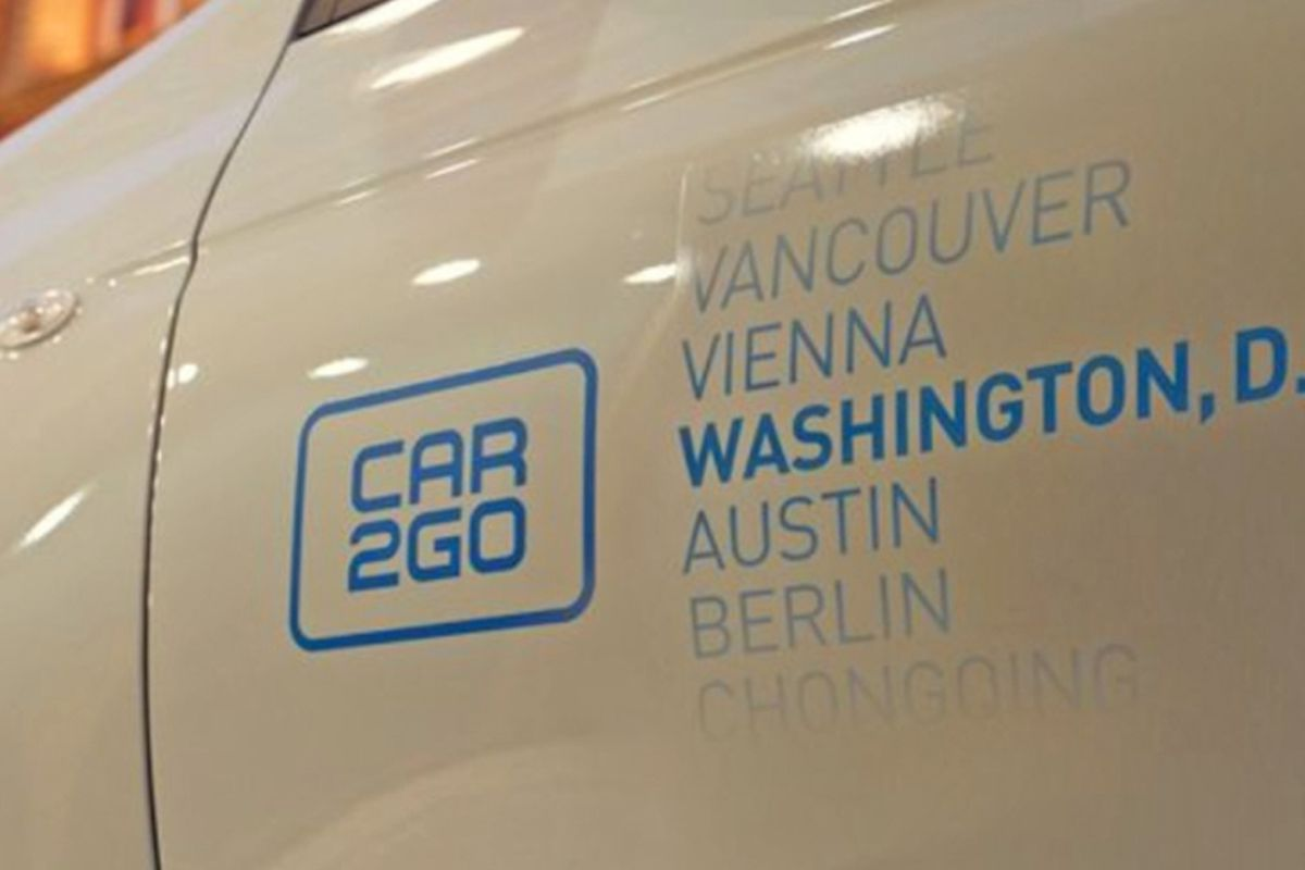 City Council Launches Test Drive Of Car2go Free Floating Car