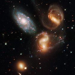 """<a class=""""colorful"""" href=""""http://spacetelescope.org/images/heic0910i/"""">Stephan's Quintet (2009)</a>"""