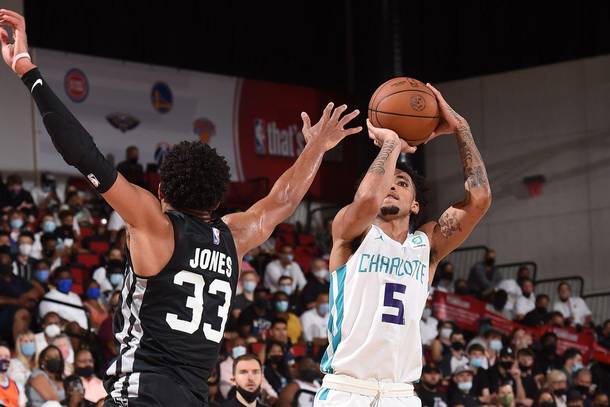 2021 Las Vegas Summer League - San Antonio Spurs v Charlotte Hornets