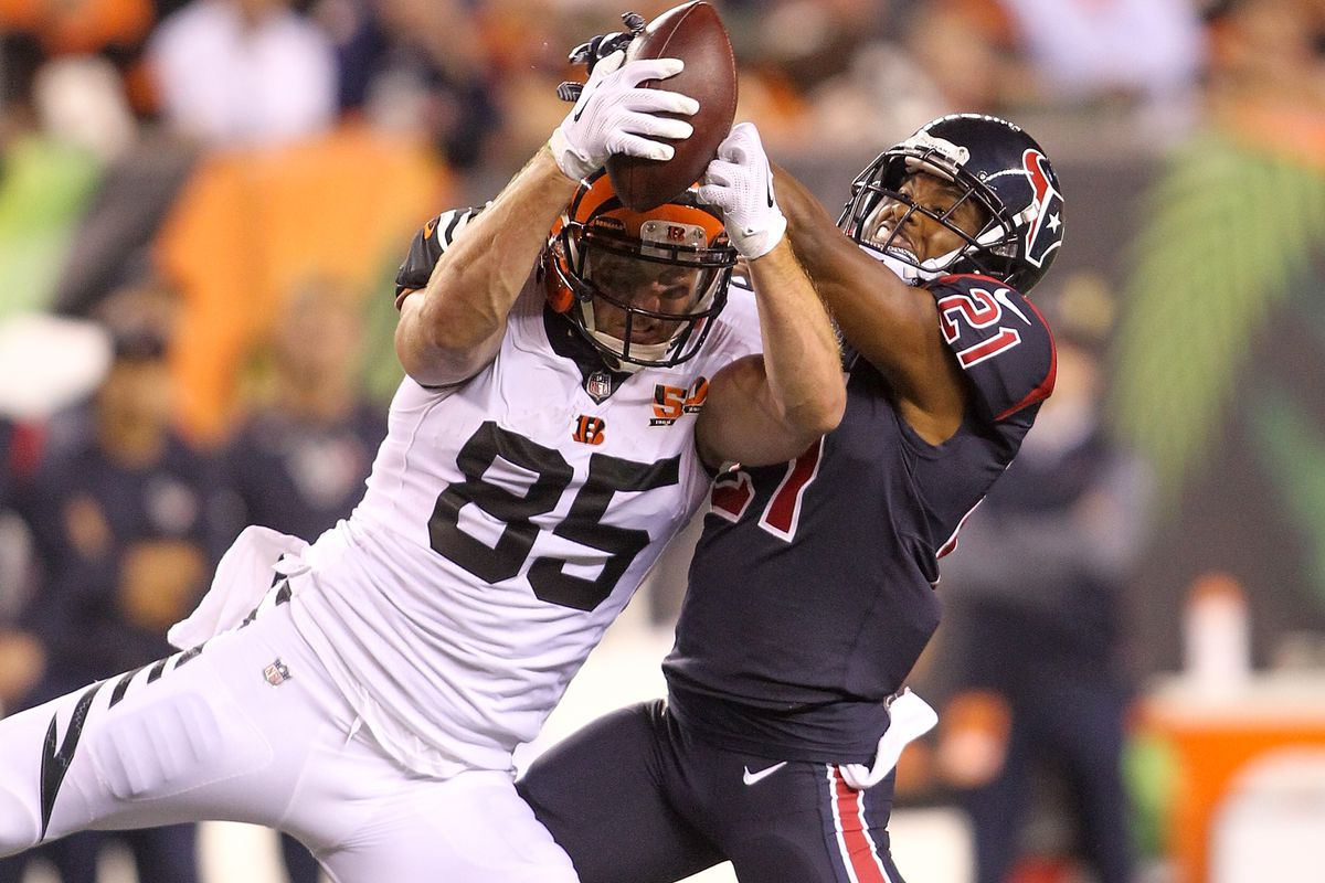 Tyler Eifert misses Thursday practice not looking good for