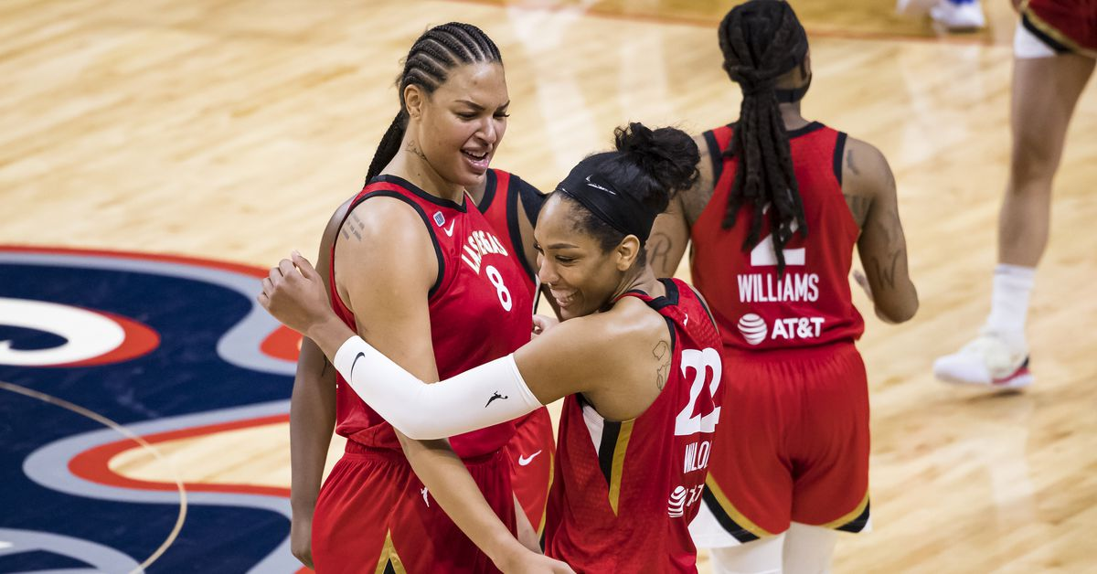 WNBA Recaps: Las Vegas Aces hold off late surge by Washington Mystics