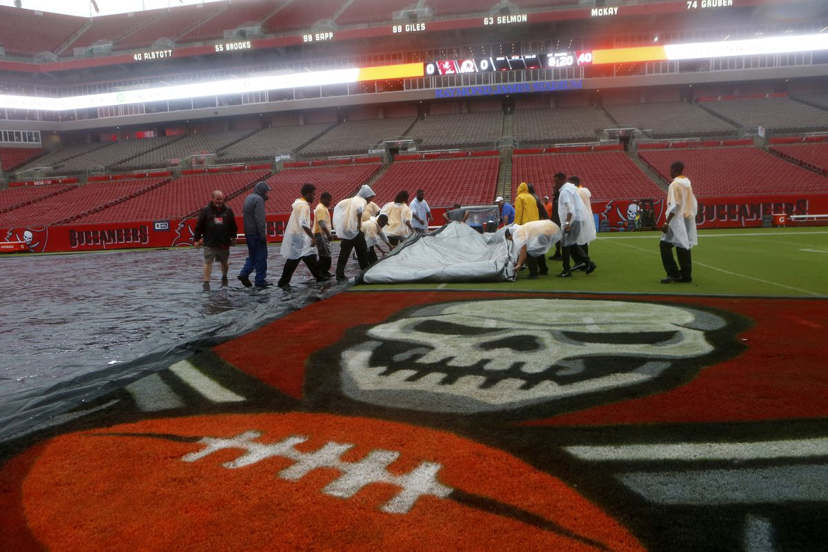 The Buccaneers Are Playing In A Nearly Empty Stadium Bucs Nation