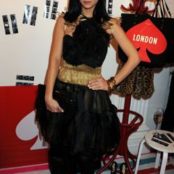Launch party for Kate Spade's pop-up shop on October 13, 2010 in London, England.<br /><br />Pic Shows: Leigh Lezark<br /><br />Pic Credit: Dave Benett