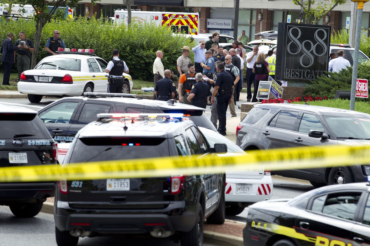 A Shooter Opened Fire At The Offices Of Capital Gazette Newspaper Killing Five People In Annapolis Maryland On Thursday Jose Luis Magana AP