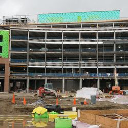 The new plaza building