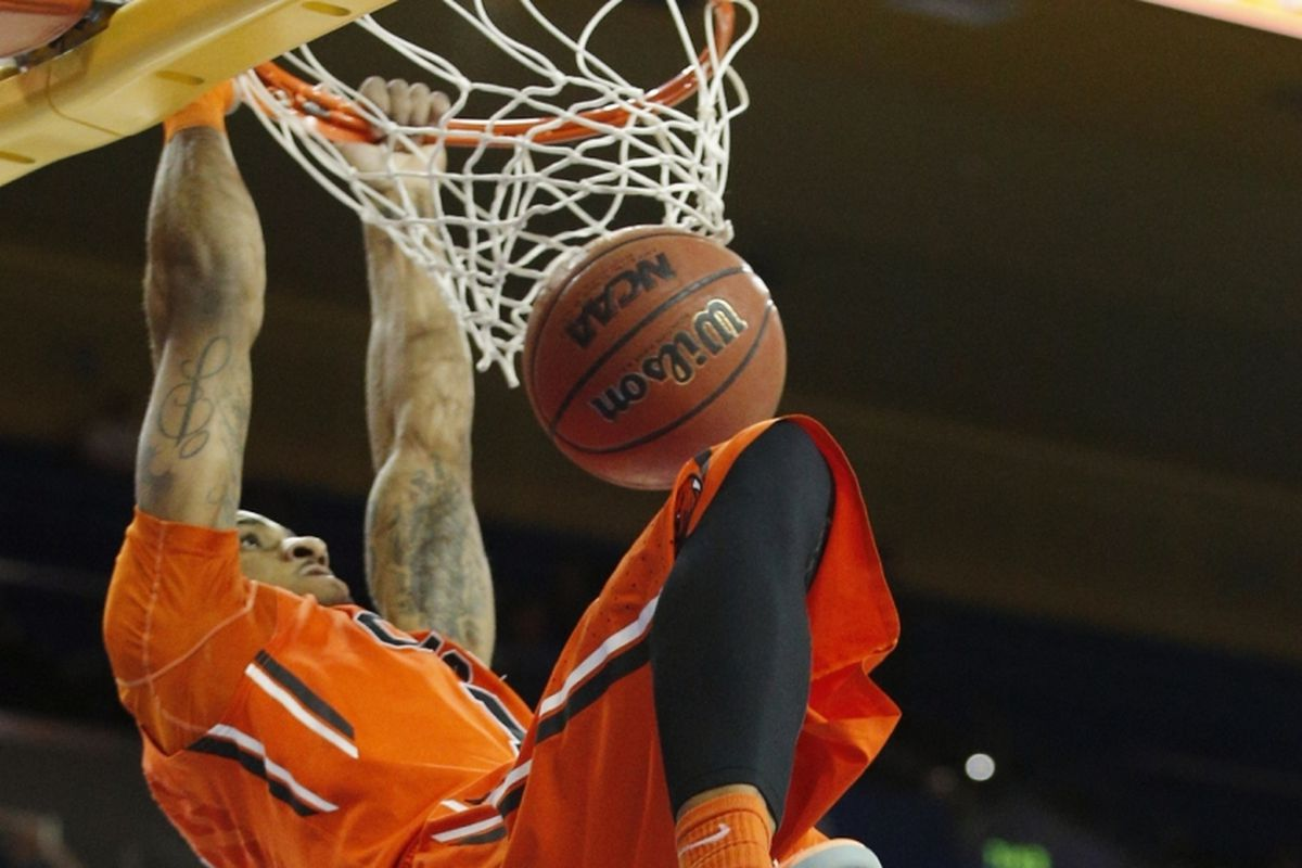 Gary Payton II was an All-Pac-12 player on both ends of the court this season.