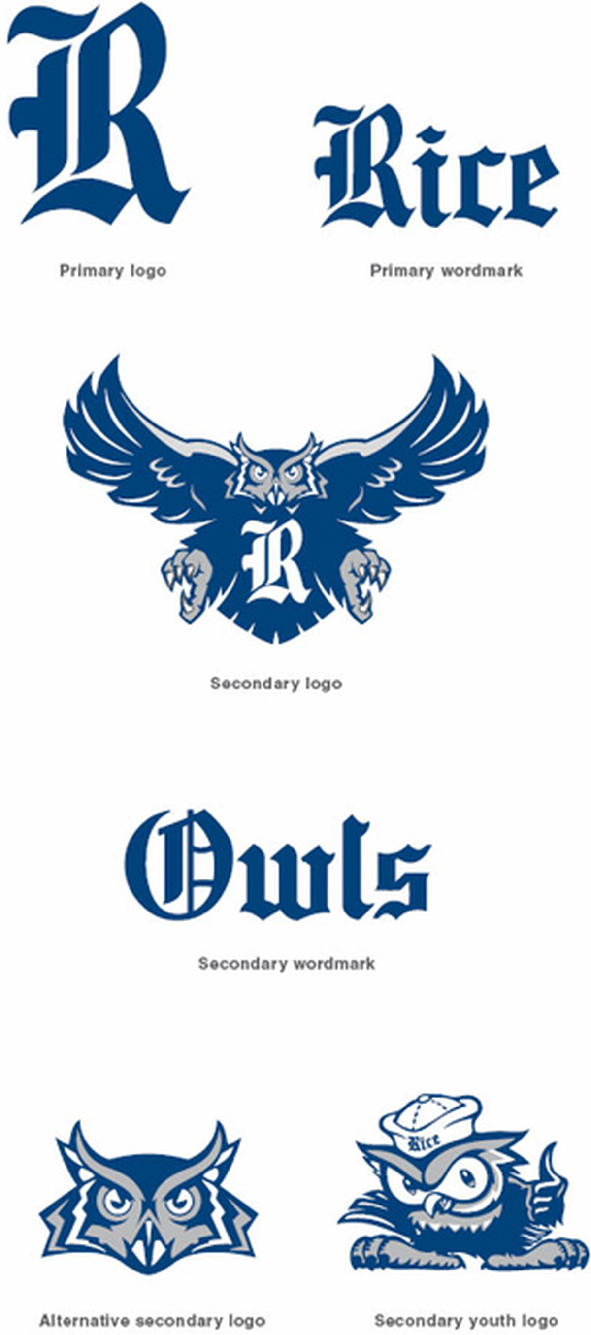 the rice owls have a new logo  and it u0026 39 s pretty sweet