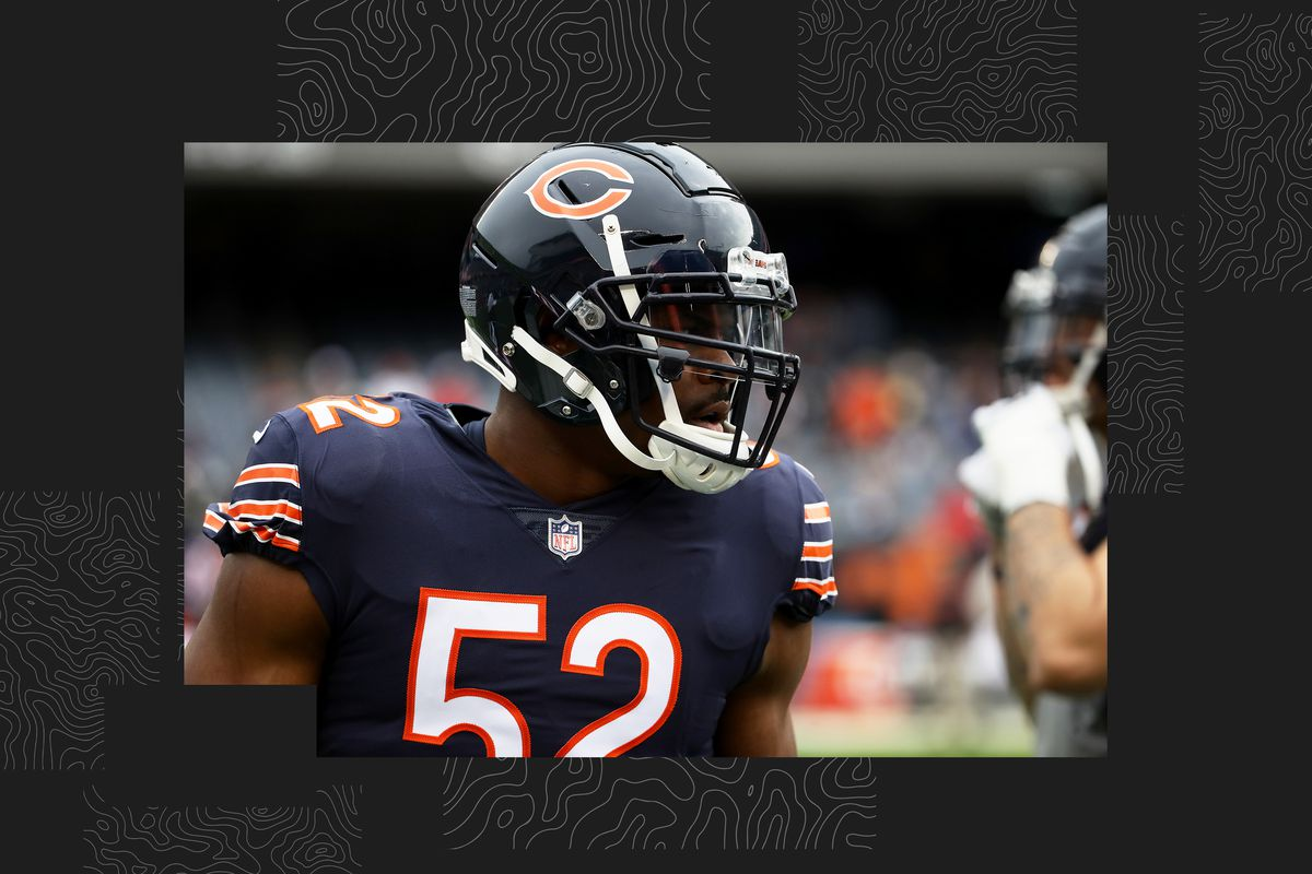 the best attitude 5e99b ec65f Khalil Mack should be an NFL MVP candidate. Period ...