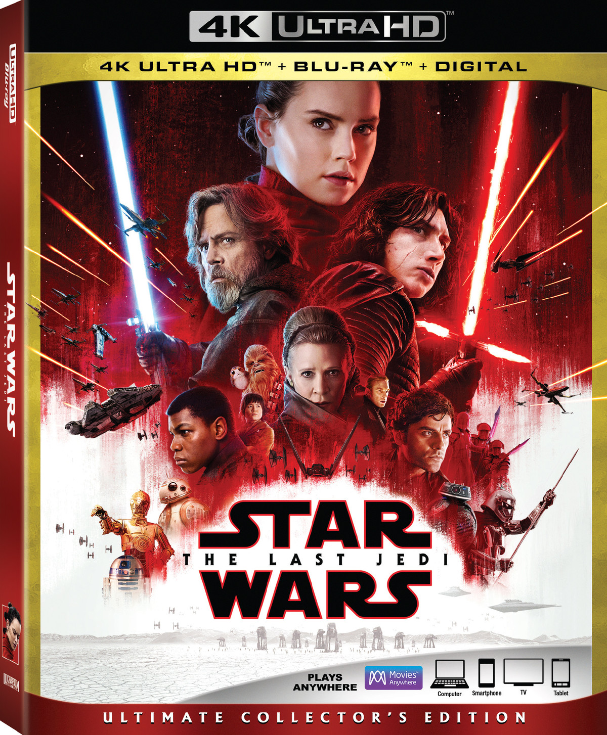 The Last Jedi will be the first Star Wars 4K home video release