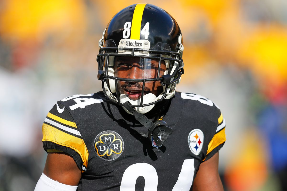 9e1d3cfa3 Steelers Antonio Brown takes to the road with Nike Destroy Doubt ...