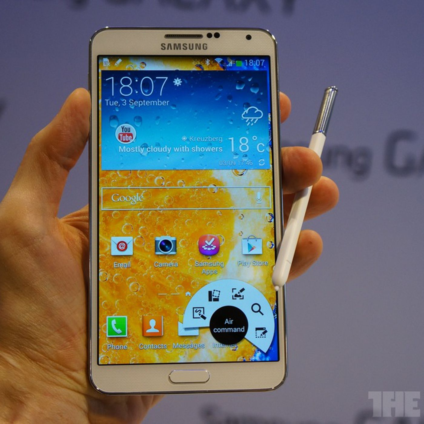 Samsung's Galaxy Note 3 is bigger, faster, thinner, and