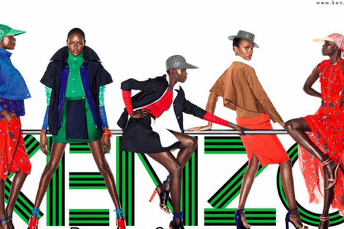 Kenzo Spring 2012 campaign, via Racked