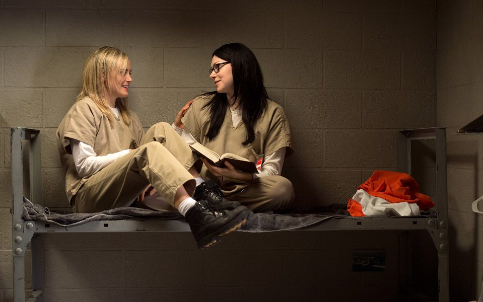 Alex and Piper in Orange Is the New Black.