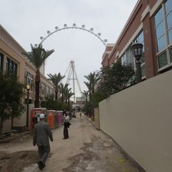 The view of the High Roller from O'Shea's.