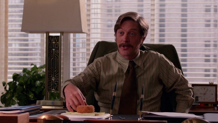 On Mad Men, all Ted wants is to land a pharmaceutical company.