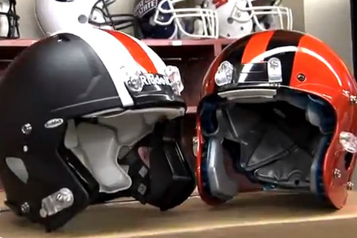 Oregon St.'s new helmets have arrived!