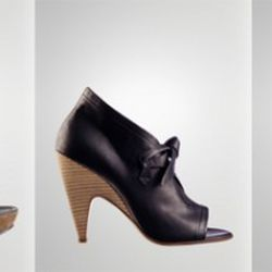 Just a little of the hawtness now at 50% off: from left: $238, $298 and $398. Via Sigerson Morrison