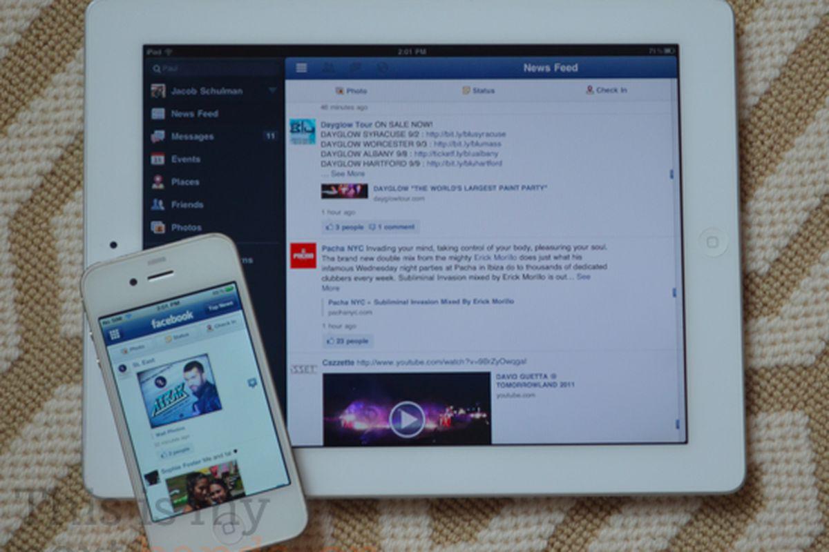 Facebook iPad unofficial