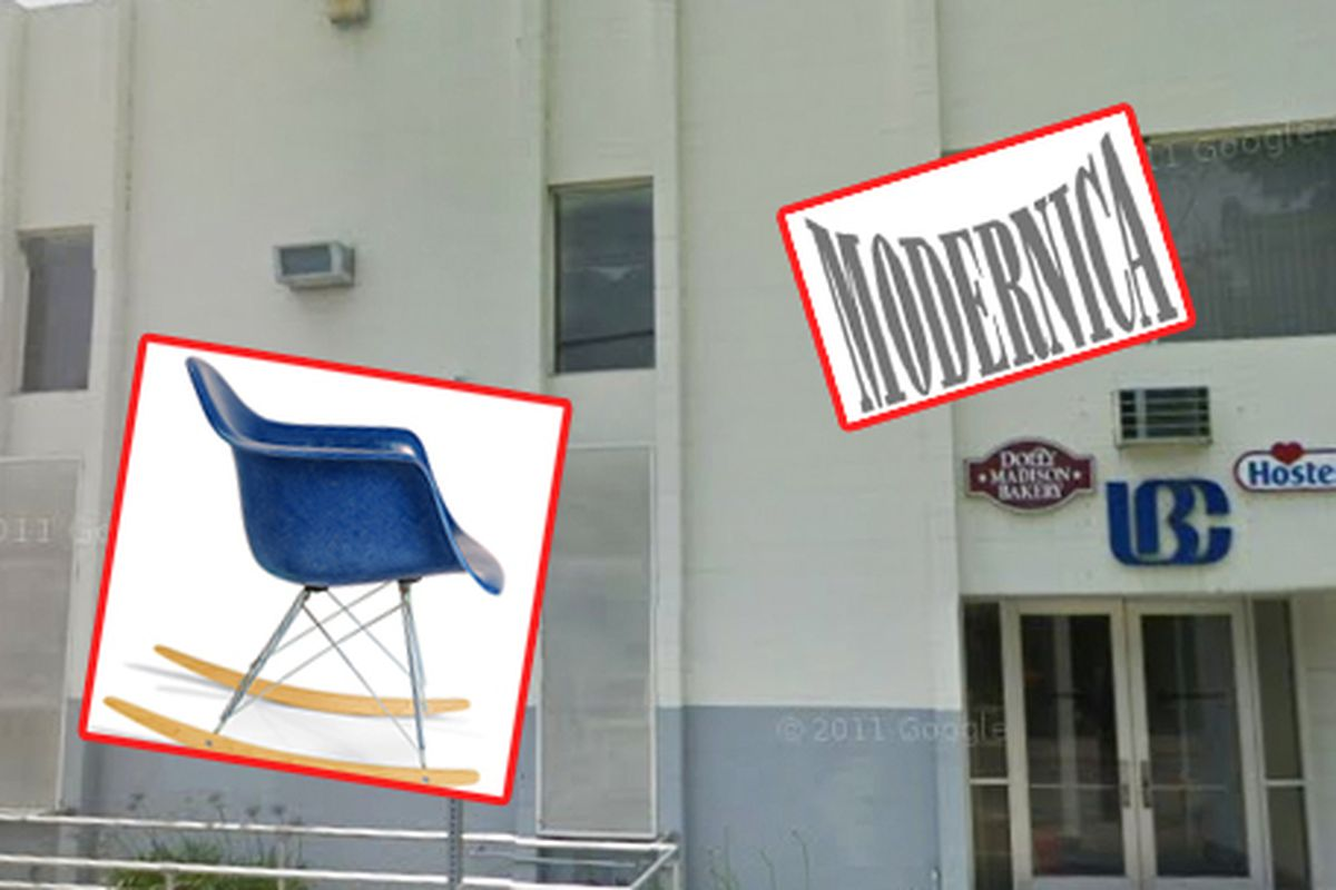 "Bakery image via <a href=""http://www.theeastsiderla.com/2014/02/modernica-furniture-owners-takeover-former-twinkies-bakery/"">Eastsider LA</a>"