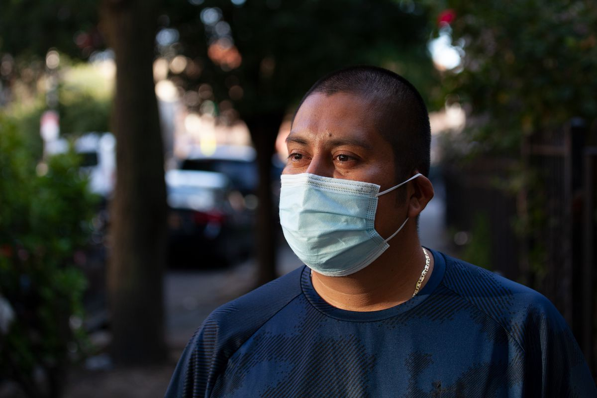 Queens resident Valentín has struggled to find work during the pandemic.