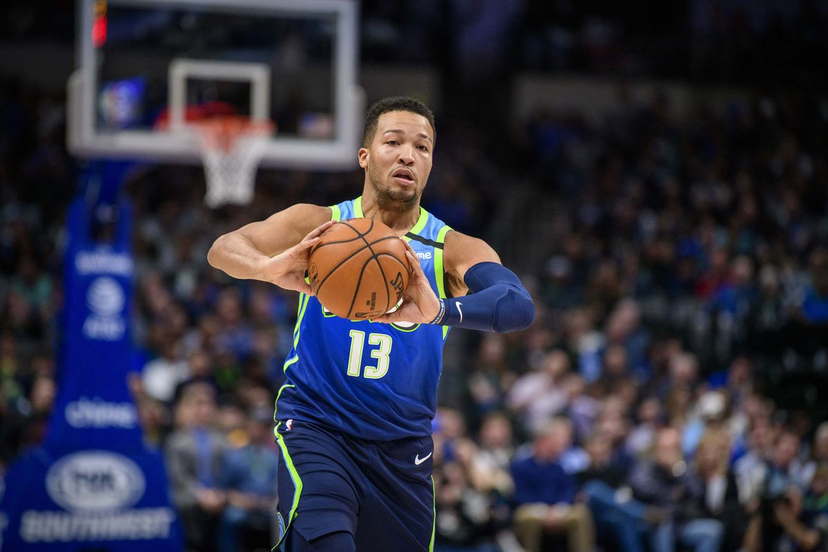 Dallas Mavericks guard Jalen Brunson in action during the game between the Mavericks and the Jazz at the American Airlines Center.