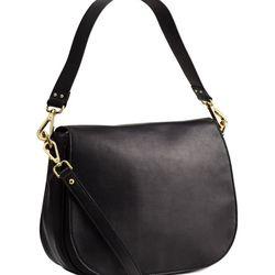 "H&M leather messenger bag, <a href=""http://www.hm.com/us/product/42309?article=42309-A"">$99</a>"