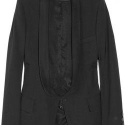 Tuxedo-style wool-blend blazer<br />Original price: $2,695<br />NOW $674<br />75% OFF